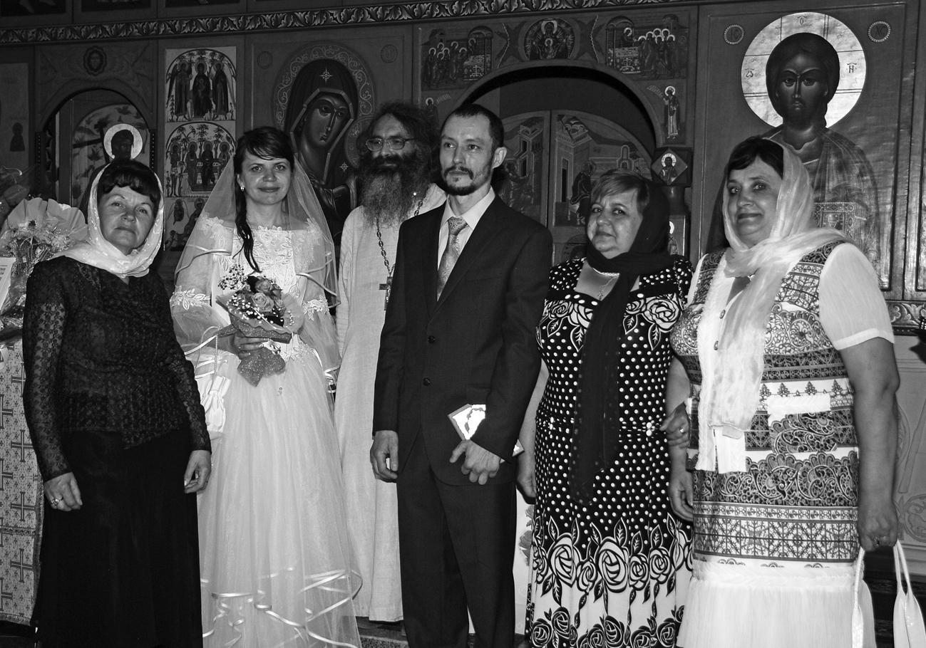 Венчание. Екатерина Егорова и Сергей Катлабуга